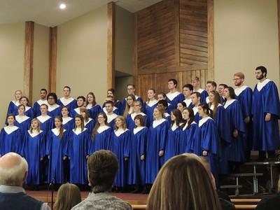 Concert Choir Winter Tour 2016
