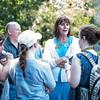 Kim & Students at Family Picnic