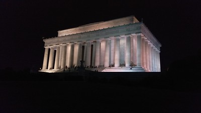 Eric Phillips_Lincoln Memorial at night