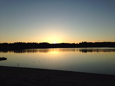 Kelly_Veiga Sunset Silver Lake Belmont NH