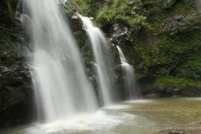 Todd Lamb Waikani Falls Maui 2016