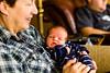 Rosie gives Grandpop the hairy eyeball
