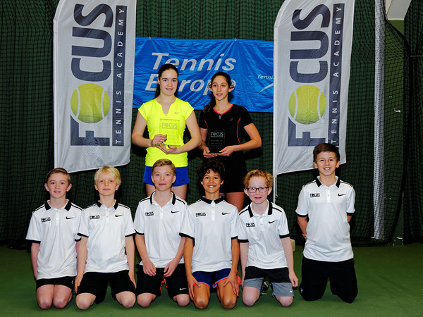 01.06a Finalists girls till 16 years - FOCUS tennis academy open 2016