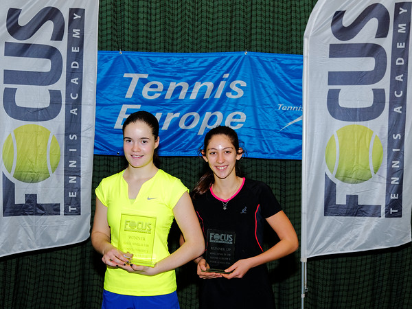 01.06 Finalists girls till 16 years - FOCUS tennis academy open 2016
