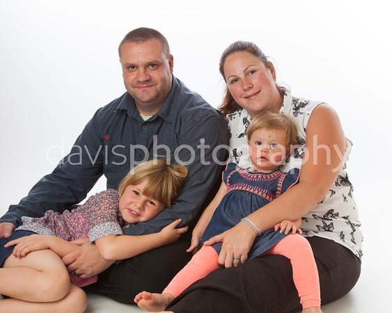 Simpson Family Portraits