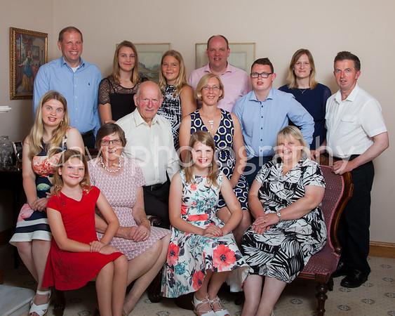 Mr + Mrs Hull's Wedding Anniversary Portraits