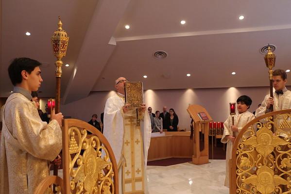 Farmington Hills Liturgy & Vasilopita