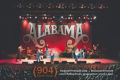 Alabama concert. St Augustine. 2.28.16