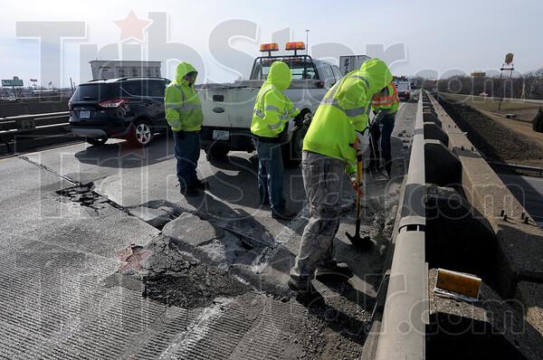 MET022316 concrete cleanup