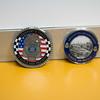 JOED VIERA/STAFF PHOTOGRAPHER- Lockport, NY-Lockport Police Department challenge coins.