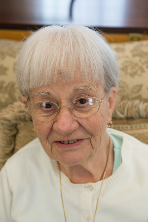 """Louise Romano- """"Nothing, when you get to my age you have to enjoy everything."""""""