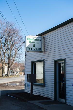 JOED VIERA/STAFF PHOTOGRAPHER- WIlson, NY- WIlson Community Pharmacy.