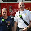 District 1 aide Tony Guiliano and District 1 DC Leigh Shapiro on Tony's last day before he retires. Congratulation's on your retirement.