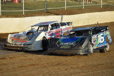 Justin Ratliff (16) and Tim Dohm (6T)