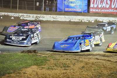 Darrell Lanigan (15), Dennis Erb, Jr. (28), Doug Drown (240), Devin Moran (99M) and John Gill (75)