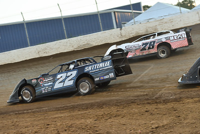 Gregg Satterlee (22) and Jeff Alsip (78)