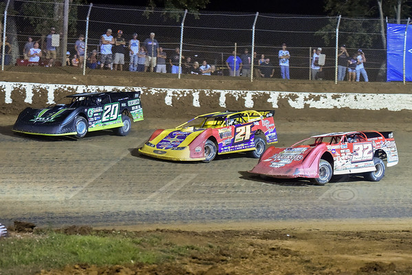Jimmy Owens (20), Billy Moyer (21) and Bobby Pierce (32)