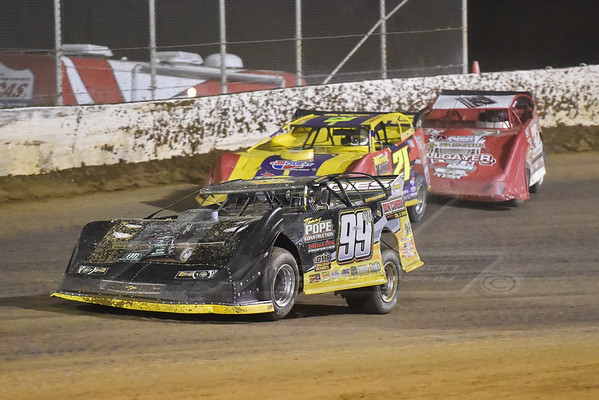 Devin Moran (99M), Billy Moyer (21) and Bobby Pierce (32)