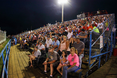 Florence Speedway grandstands
