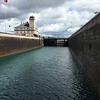 LOCKS FOR SHIPS (AND US) TO PASS THRU...SAULT STE MARIE, MI