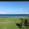 VIEW FROM OUR MOTEL OVERLOOKING LAKE HURON