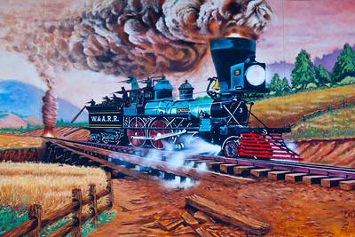 """The""""General"""" Mural Adairsville GA_1112"""