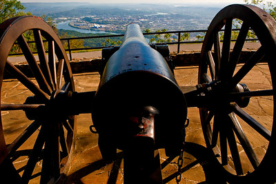 Cannon Lookout Point Lookout Mt  Chattanooga TN_1011