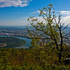 View from Lookout MT Chattanooga Tennessee River_1017