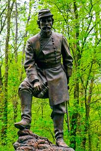 Confederate General Patrick Cleburne Ringgold Gap GA_1104