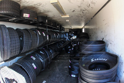 Hoosier Tire trailer