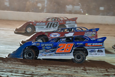 Dennis Erb, Jr. (28), Earl Pearson, Jr. (1) and Randy Weaver (116)