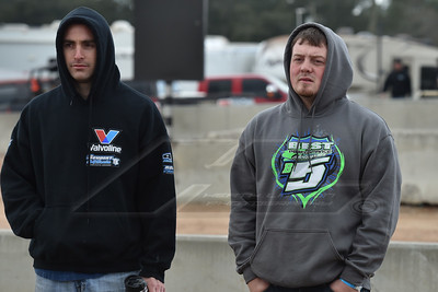 Josh Richards (L) and Brandon Sheppard (R)