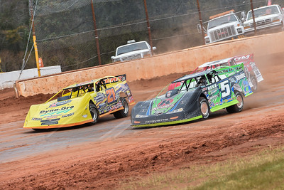 Brandon Sheppard (B5), Billy Moyer, Jr. (21JR) and Randy Weaver (116)