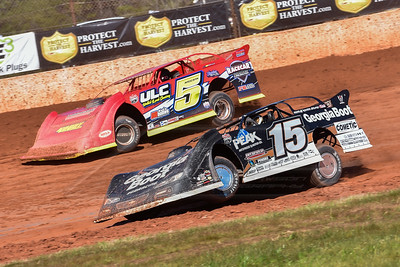 Darrell Lanigan (15) and Mark Whitener (5)