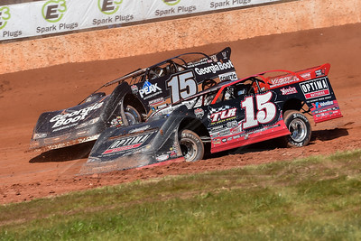 Steve Francis (15 inside) and Darrell Lanigan (15)