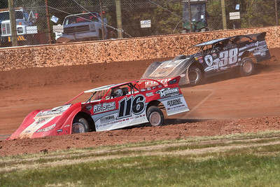 Randy Weaver (116) and Kenny Pettyjohn (38)