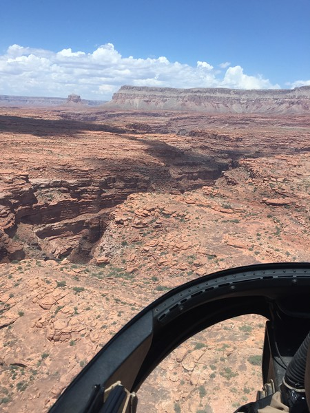126b Helicopter ride down canyon 2