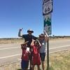 212 Lyle Dotty Thomas Joseph on Route 66