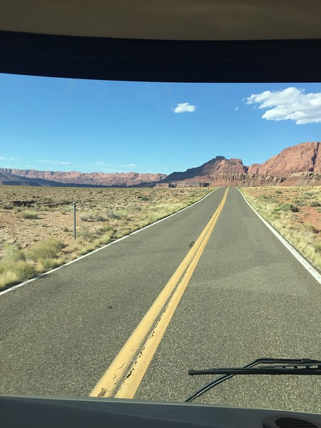 340 the road across Navajo land