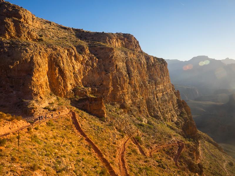 Sun on the South Kaibab trail