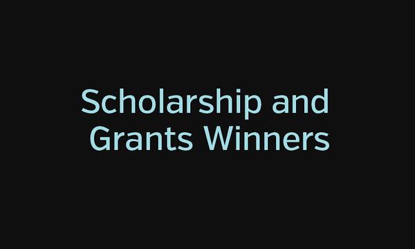 Grant & Scholarship Winners