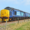 37419 tnt 37405  1248/2c58 Norwich-Great Yarmouth approaches its destination  27/08/16.