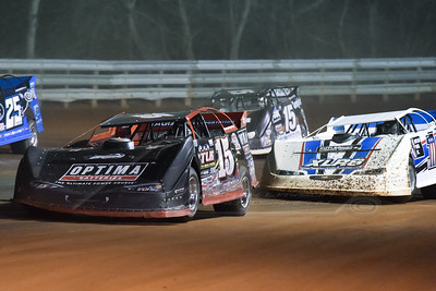 Steve Francis (15), Gary Stuhler (1) and Darrell Lanigan (15)