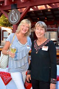 Linda Kjaempe and Valerie Carter