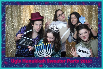 Hanukkah Ugly Sweater Party 2016
