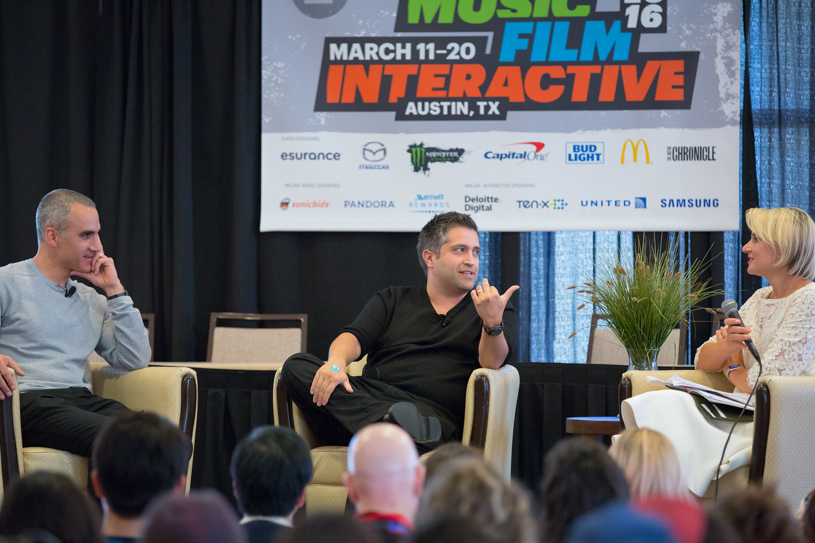 #SXHW @s2 Beauty 2.0 - The role of innovation in today's beauty industry - Andre Yousefi, Co-founder at PCH Lime Lab - Guive Balooch, Global Vice President of L'Oréal's Technology Incubator  Moderated by Maghan McDowell, WWD.