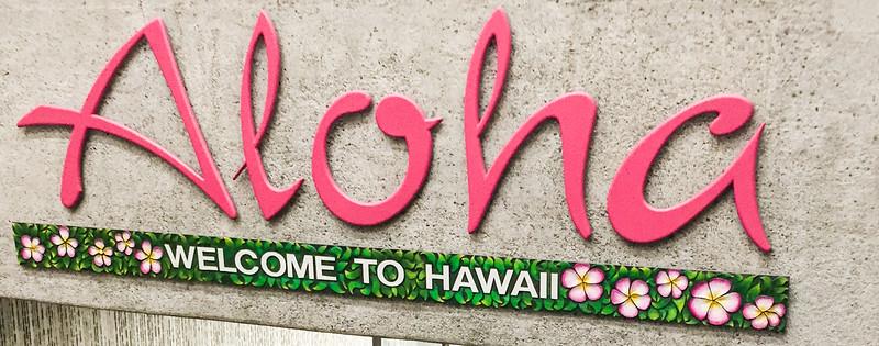 Welcome to Hawaii !