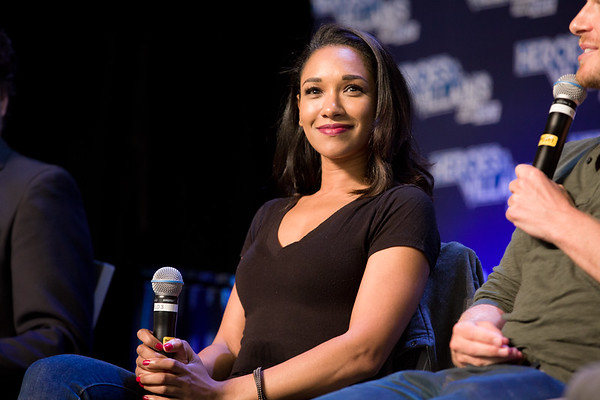 #HVFF @candicekp @RobbieAmell @RickCosnett @teddysears THE FLASH: Candice Patton, Robbie Amell, Rick Cosnett, Teddy Sears