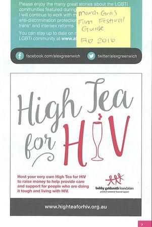 High Tea for HIV