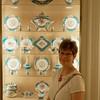One of Laura's favorite porcelain sets; Sèvres. Made since mid 1700's in Sèvres, Hauts-de-Seine, France.